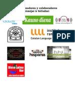 Patrocinadores primavera espanol 2012