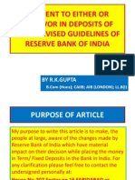 PAYMENT OF TERM DEPOSIT WITH MANDATE OF EITHER OR SURVIVOR OR FORMER OR SURVIVOR.pptx