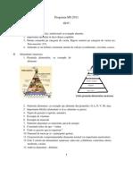 Programa Cls III-IV