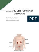 Pediatric Genitourinary Disorders