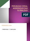 Presentasi Perubahan Sosial Modernisasi Dan Globalisasi