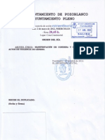 Convocatoria Pleno Ex. 2 de Mayo 2012