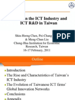 2Chen0216TrendsinICTIndustryICTRDinTaiwan2011Feb Simplified
