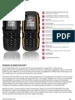 Sonim XP1300 XP3300 Spec
