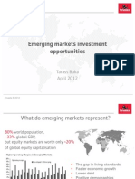 Emerging Markets Investment Opportunities - April 2012 Finasta