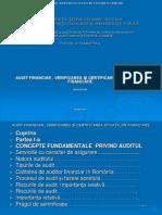 AUDIT FINANCIAR , VERIFICAREA ŞI CERTIFICAREA SITUAŢIILOR FINANCIARE - Copy