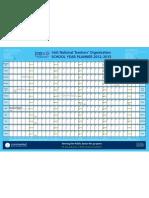 INTO School Year Planner 2012-2013