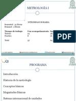 0. Presentación Metrologia I