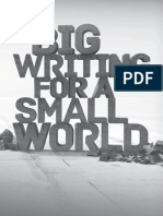 Big Writing For A Small World
