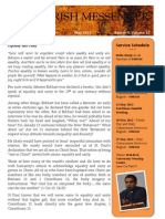 News Letter May 2012