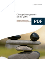Change Management-Studie 2008