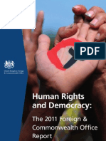 UK Human Rights Report 2011