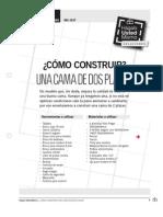 Como Construir Una Cama de Dos Plazas