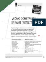 Construir Panel Organizador