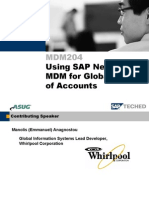 MDM204+ +Using+SAP+NetWeaver+MDM+for+Global+Chart+of+Accounts