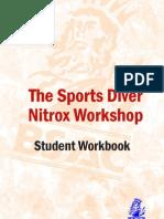 SD Nitrox Workshop Student Workbook