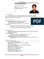 CV MD Forhadul Islam Bhuiyan