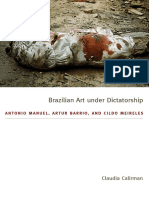 Brazilian Art under Dictatorship by Claudia Calirman