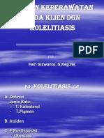 Askep kholelithiasis