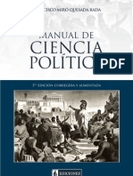 Francisco Miró Quesada Rada - Manual de Ciencia Politica