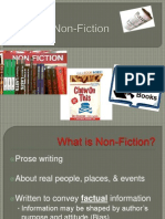 Non Fiction Terms
