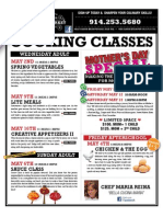 Tarry Market Cooking Classes MAY 2012