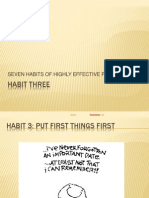 Habit Three