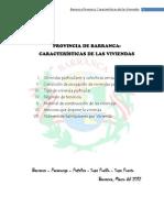 Barranca - Viviendas