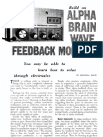 Build a Brain Wave Feedback Monitor