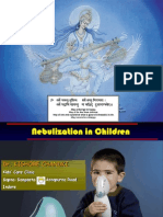 Nebulization in Children