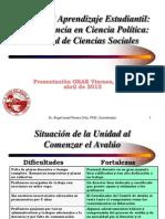Avalúo-La experiencia en Ciencia Política Ángel I. Rivera