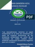Programa Bandera Azul Ecologica Escolar