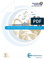 SGE Product Selection Guide - Resolution Systems