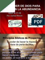 El Poder de Vivir en La Abundancia de Dios 4-25-12