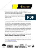 Cronica Baja Almanzora 2012 Team Promyges Rockstar