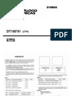 DT 180 Catalogo de Pecas 1991