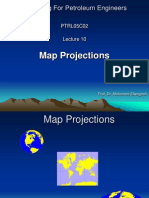 Lecture 10 Bue Map Projection