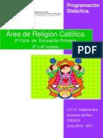 2Ciclo_Religion Pautas a Revisar