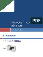 FRANÇAIS 1- CLASSE 7