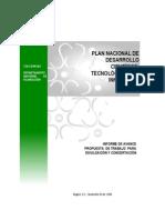 Plan Desarrollo Cientifico y Tecnologico 2019