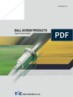 TONGIL Ballscrew Catalog (English)