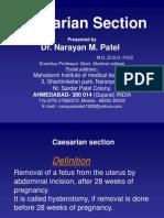 Cesarean Section Patel