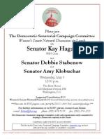 Women's Senate Network Discussion & Lunch