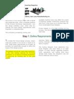 5 Step of Fixture Design