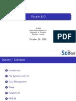 Parallel Io Course