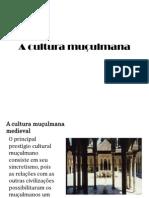 A cultura muçulmana