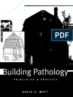 Building Pathology..Principles and Practice-David Watt