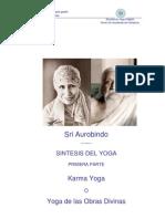 Libro Síntesis del Yoga I Sri Aurobindo