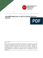 Cdma2000 Application on UICC for Spread Spectrum