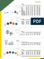 Datos lámparas tecnolite
